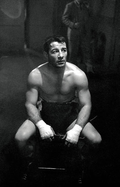 Photo of Rocky Graziano by Stanley Kubrick
