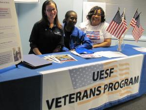 UESF Veterans Outreach Table